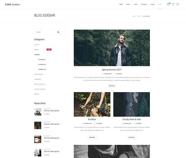 Blog Sidebar