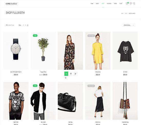 Shop FullWidth